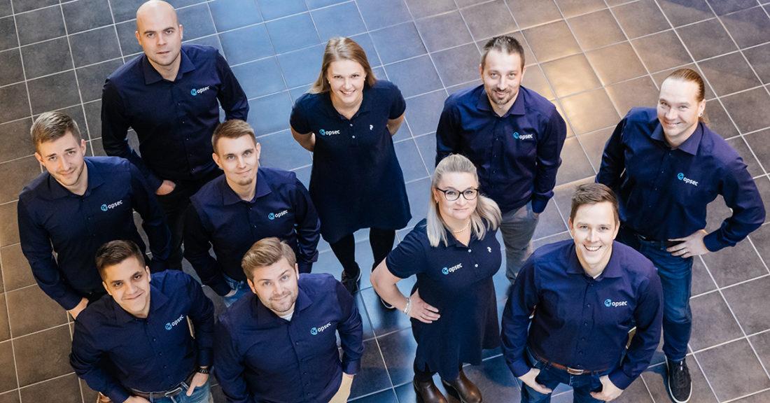 Opsec Oy:n IT-joukkue