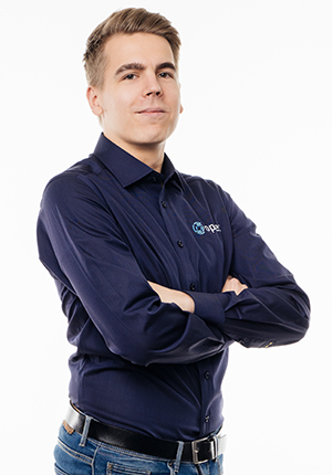 Jere Alanko-Luopa, tekninen asiakaspalvelu, Opsec Oy