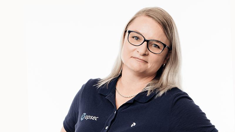 Projektipäällikkö Anne Partanen, Opsec Oy