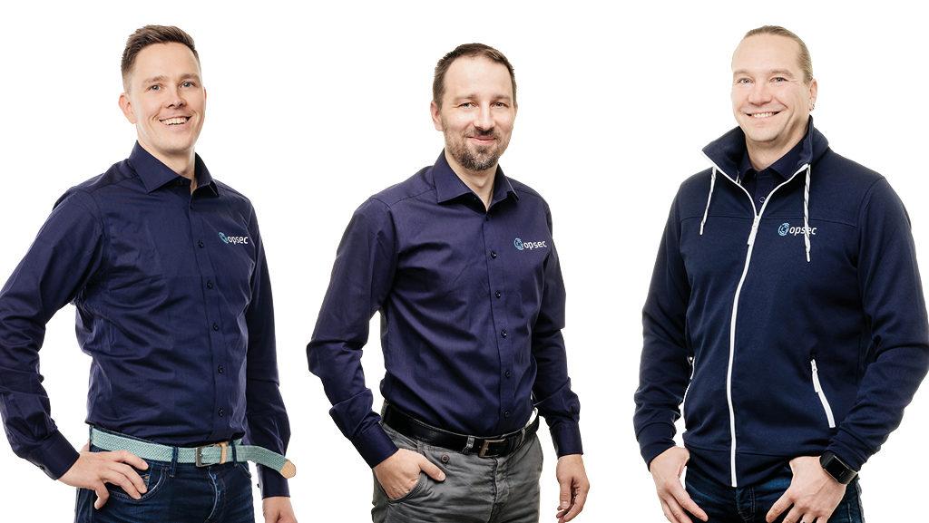 Jukka Törmä, Mika Lindberg ja Jari Ala-Varvi