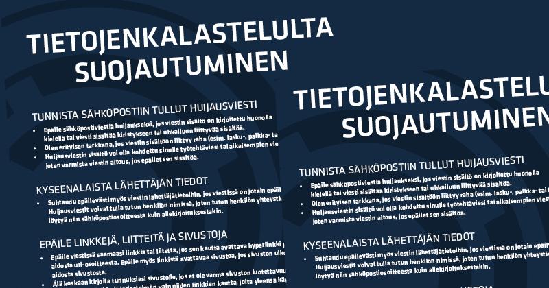 Tietojenkalastelulta suojautuminen -huoneentaulu, Opsec Oy