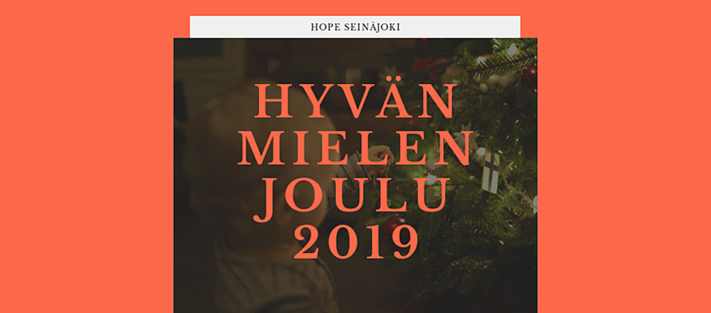 Opsec Oy:n joululahja Hope Seinäjoelle