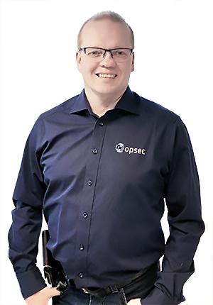 Antti Kantola, tietohallintopäällikkö, Opsec Oy